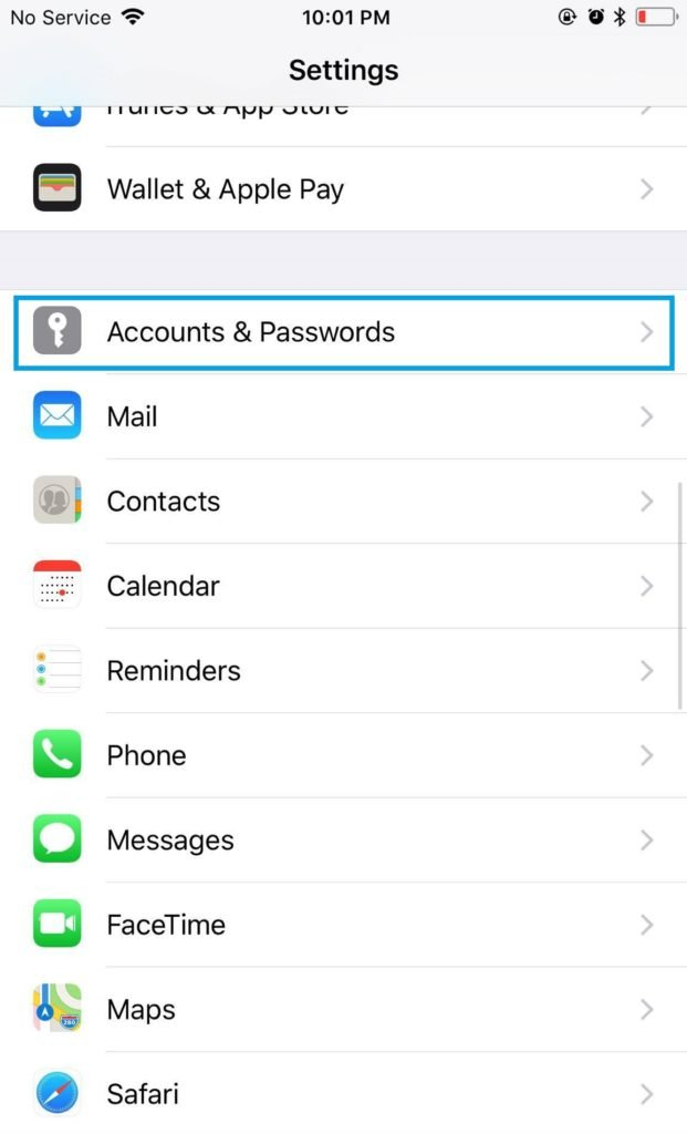 how to stop receiving emails on iphone
