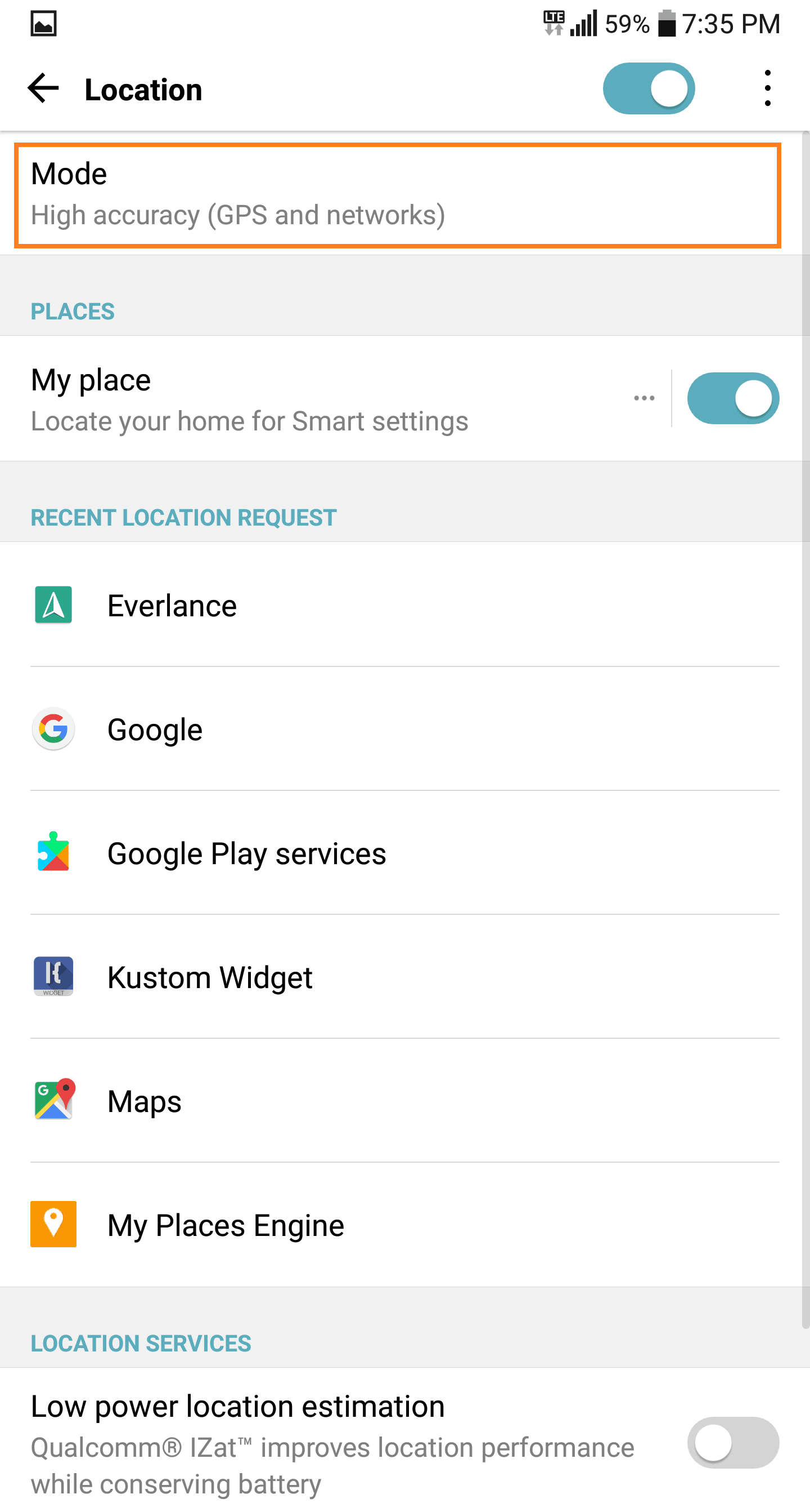 GPS not finding location on LG G6 - TheCellGuide