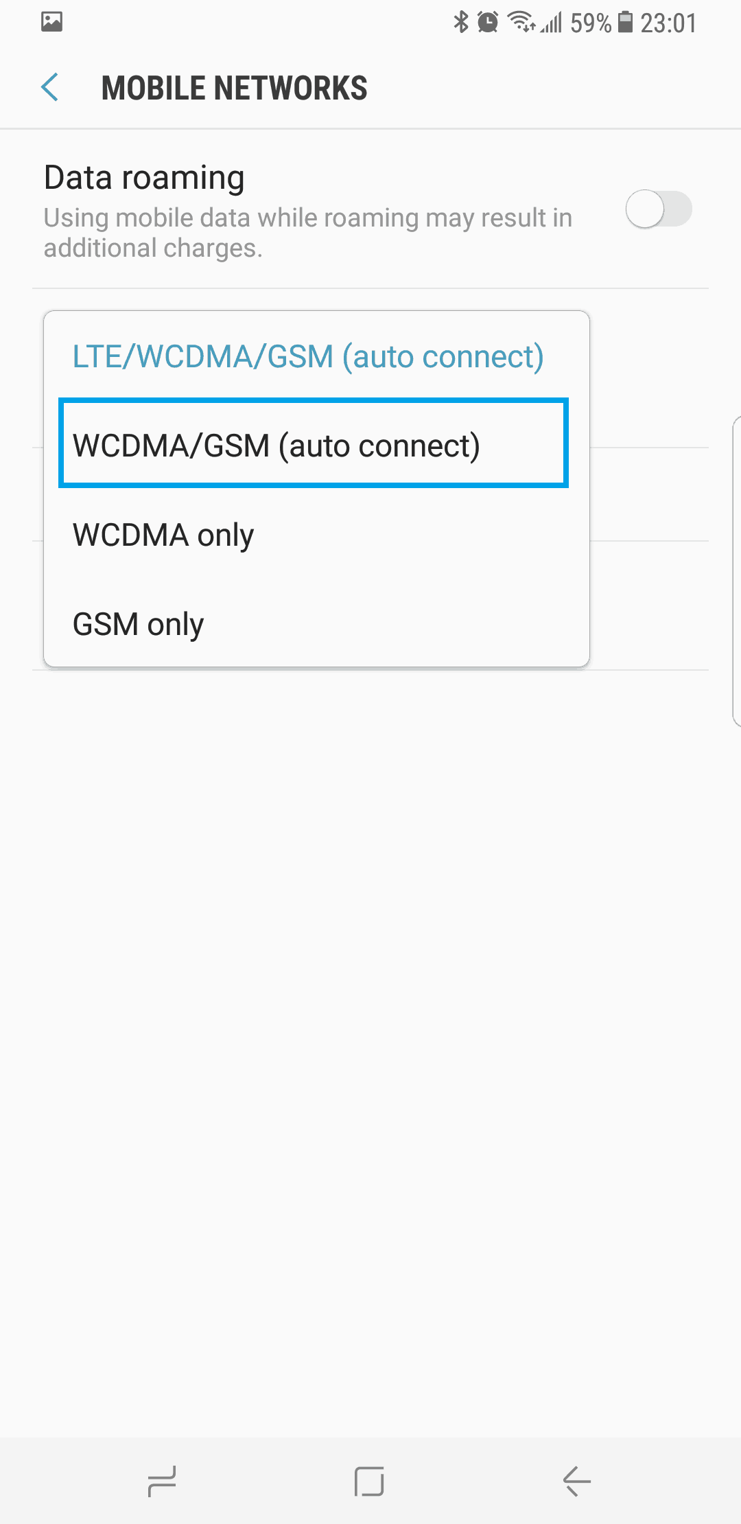 No Service on Samsung Galaxy S9 - TheCellGuide