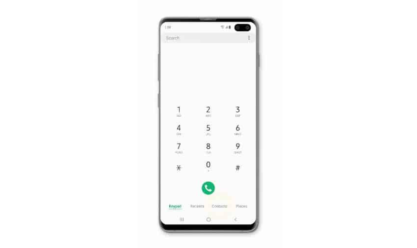 Fix Samsung Galaxy S10 that can't make phone calls