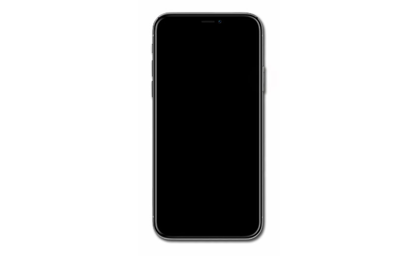 If you encounter the iPhone XR black screen issue, your device won't respond even if you connect it to the charger.