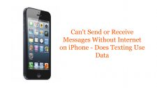 Can't Send or Receive Messages Without Internet on iPhone - Does Texting Use Data