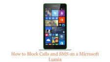 How to Block Calls and SMS on a Microsoft Lumia