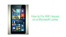Fix WiFi Issues on a Microsoft Lumia