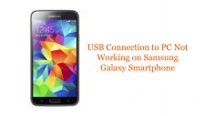 USB Connection to PC Not Working on Samsung Galaxy Smartphone