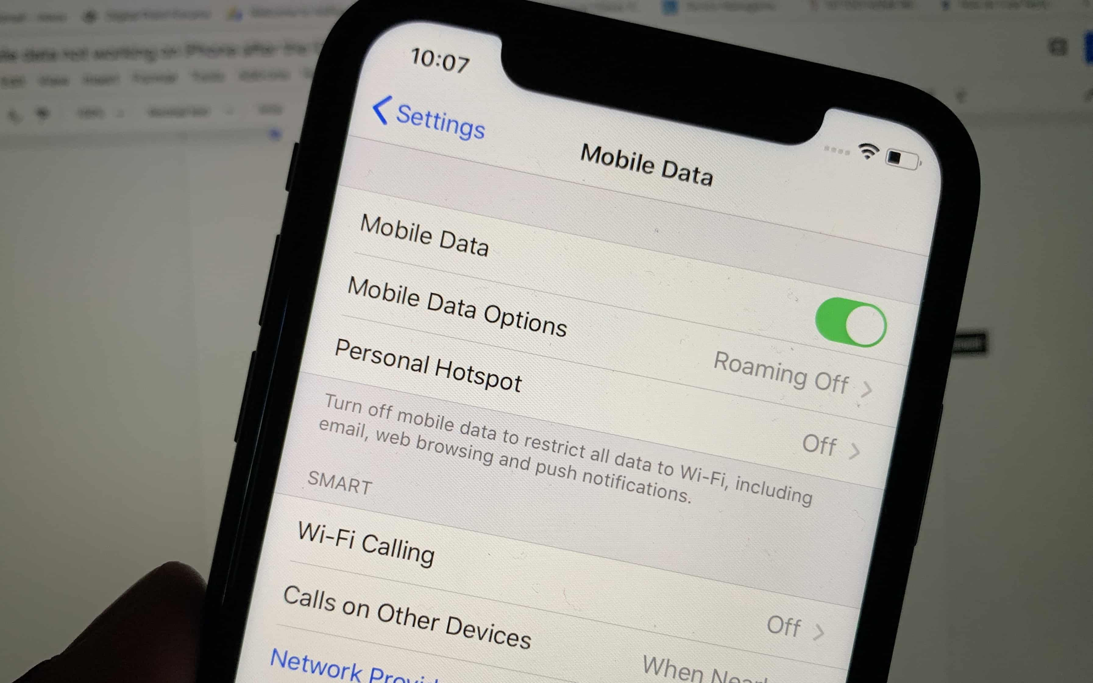 fix mobile data or cellular data that's not working on an iPhone