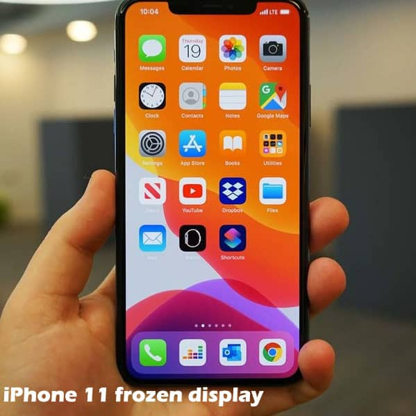 fixing an iphone 11 that's frozen or not responding
