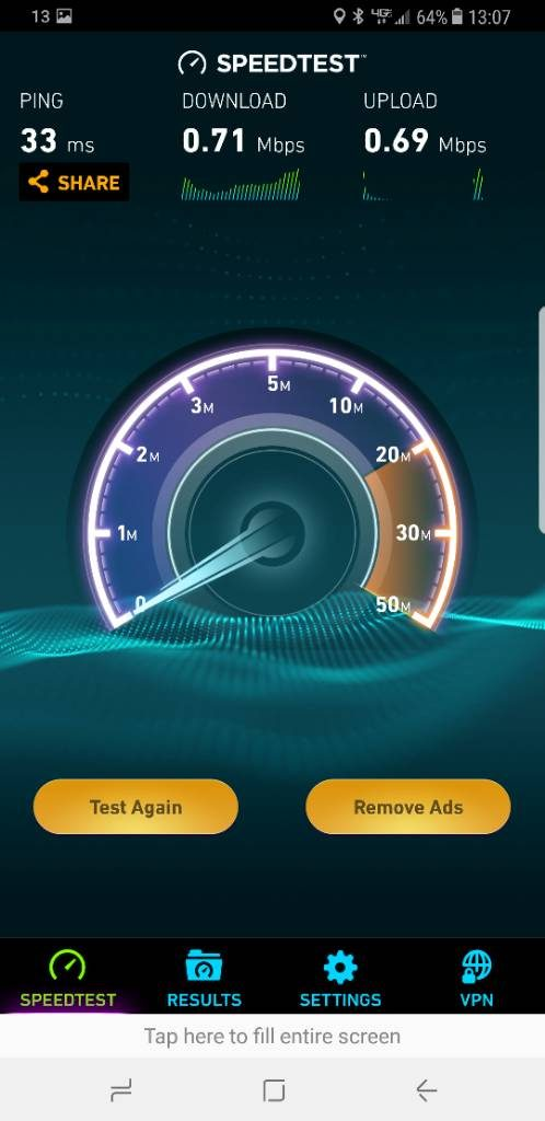 iphone xs speed test results slow download and upload speed.