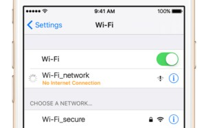 fixing post-update wifi issues on an apple iphone 7 after ios update
