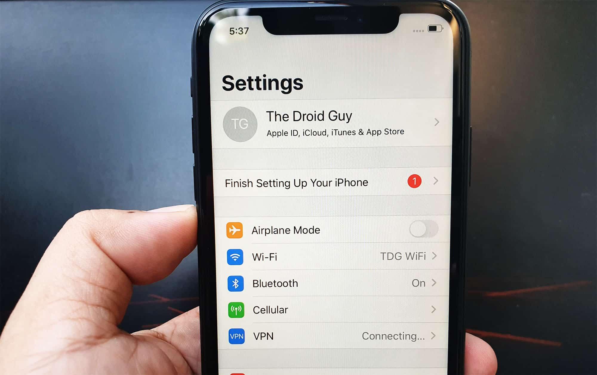 restart iphone x, won't reboot, not responding