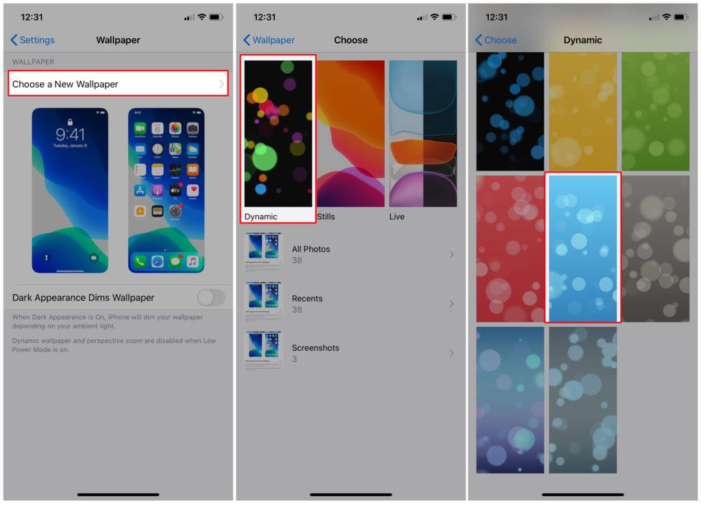iphone 11 dynamic wallpaper