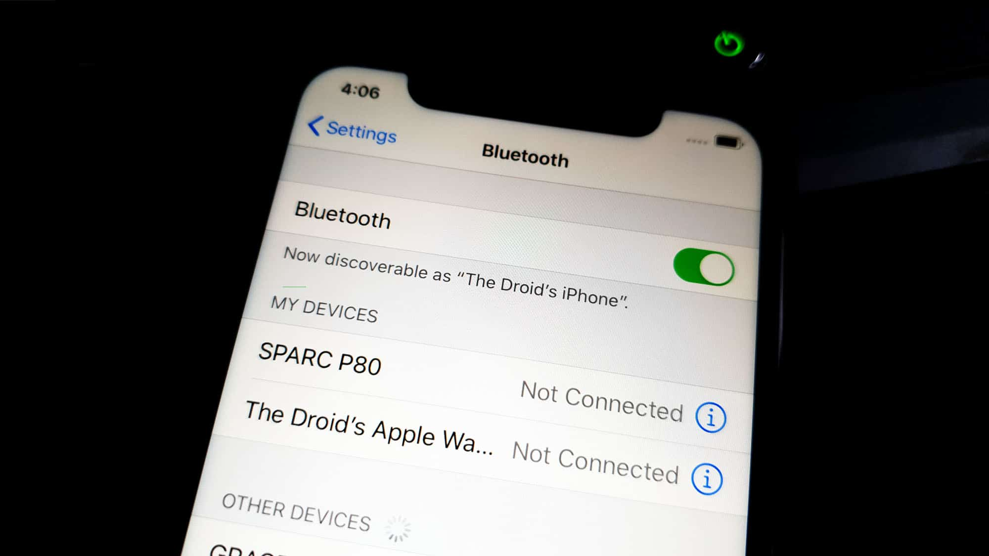 iphone bluetooth not working