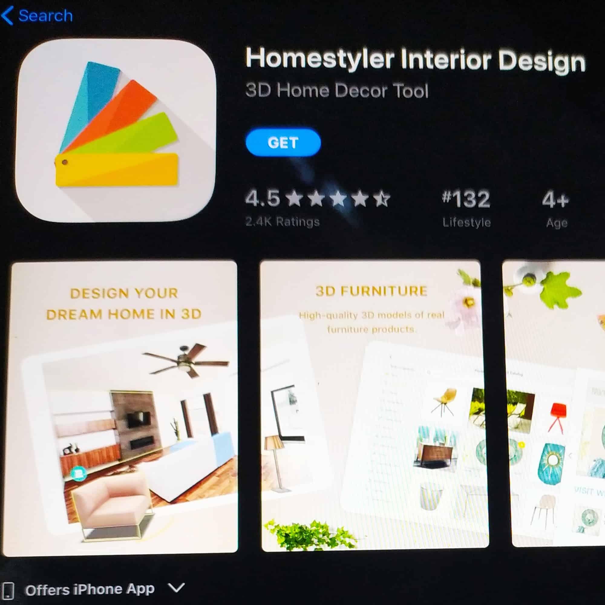 Homestyler Interior Design App For Ios