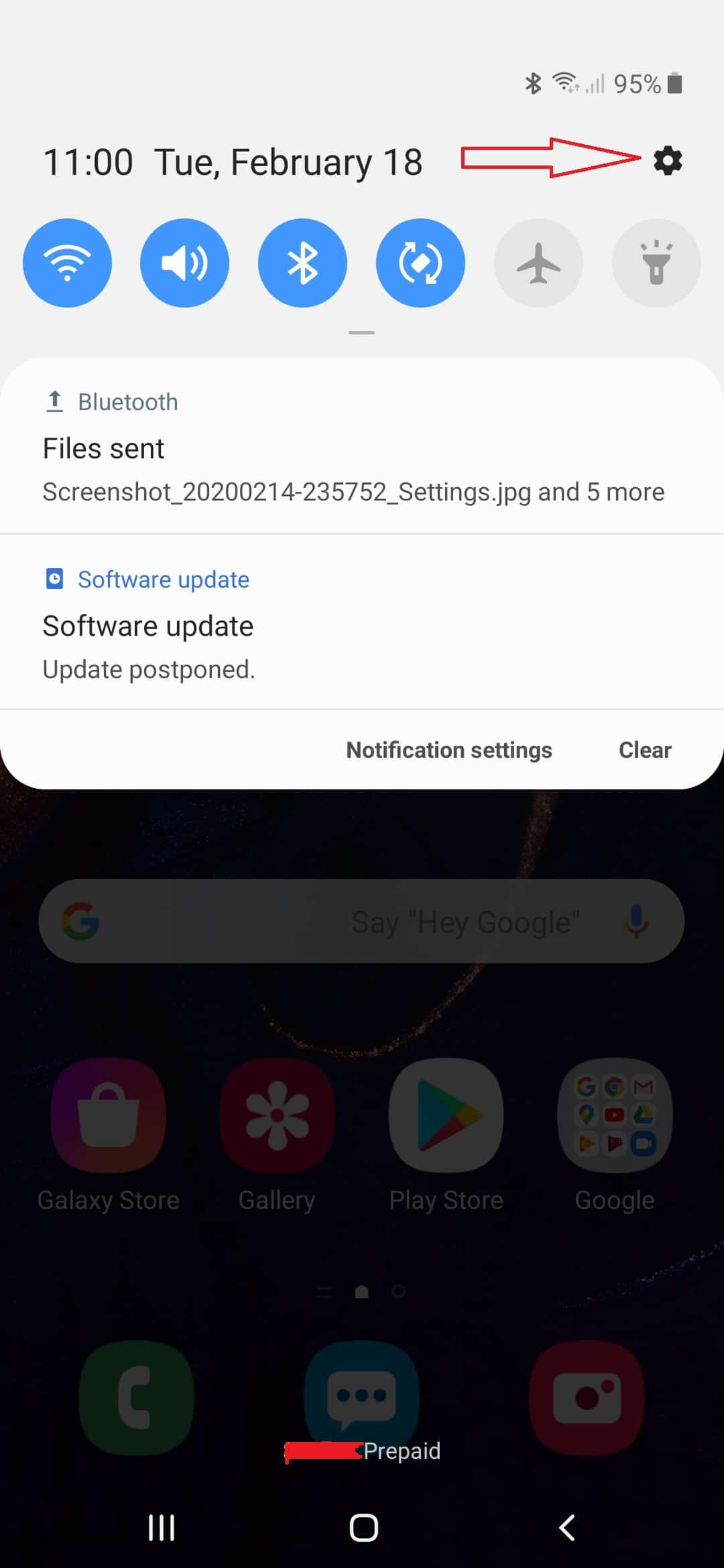 enable debugging on galaxy a50