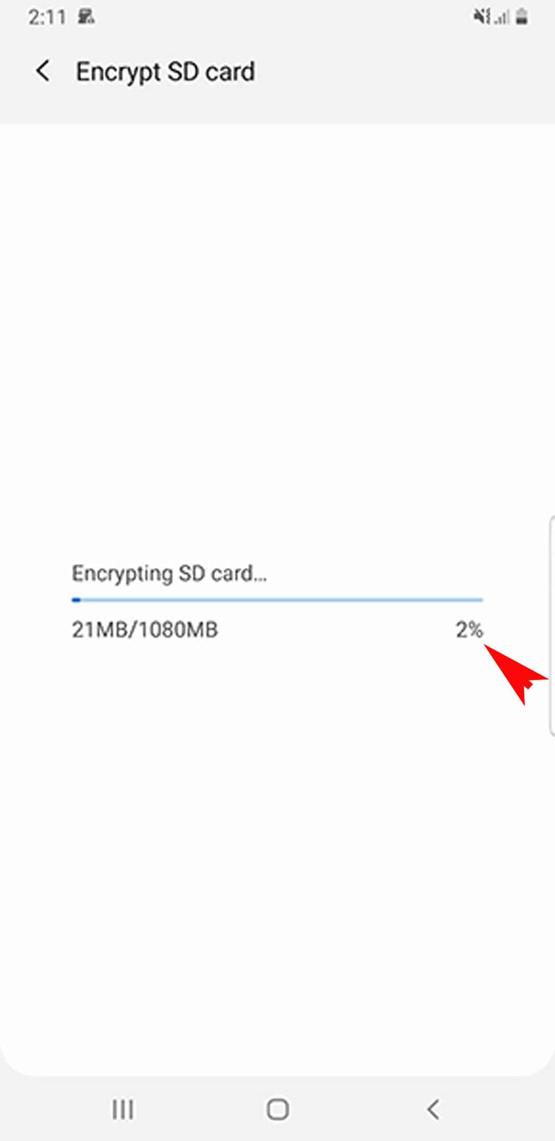 encrypt decrypt sd card galaxy s20 - biometrics and security