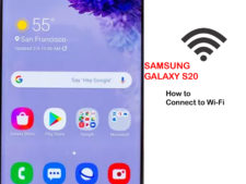 how to get galaxy s20 connect to wifi