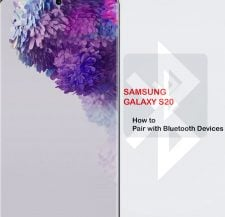 how to pair bluetooth devices with galaxy s20