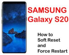 how to soft reset and force restart galaxy s20