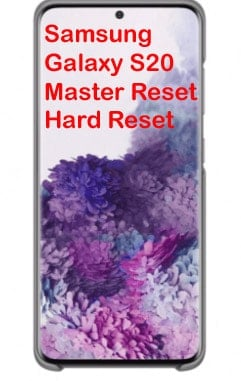 master reset galaxy s20 - featured image