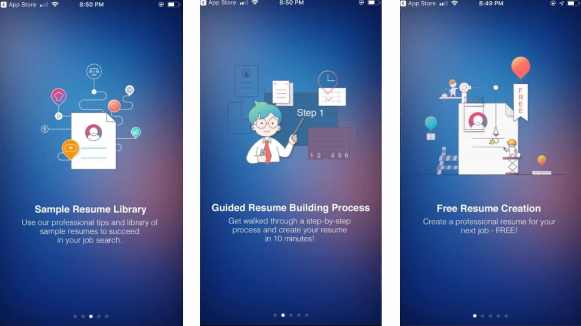 best resume apps for iphone