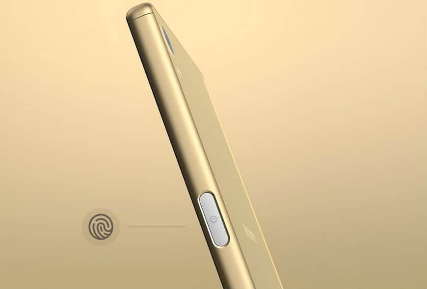 Side Mounted Touch ID