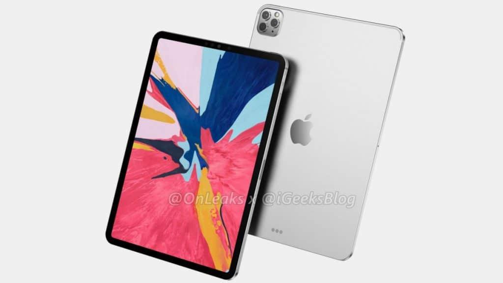 iPad Pro 2020 Render
