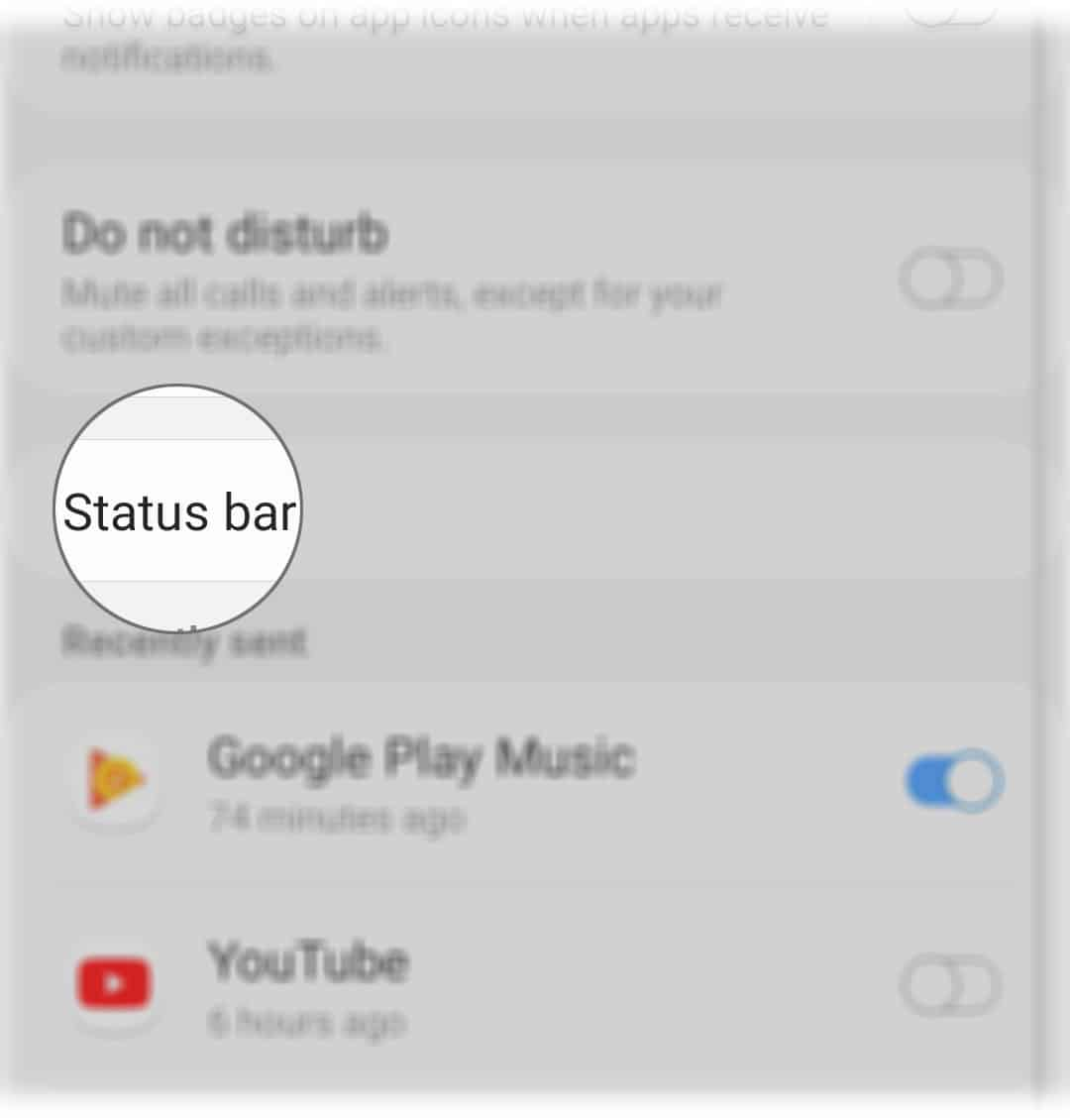 enable battery percentage galaxy a50