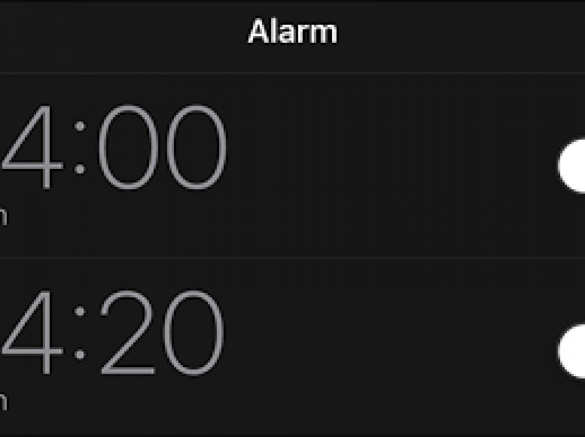 Fix Alarm That Is Not Working On iPhone XS iOS 13
