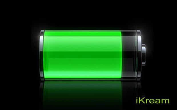iKream battery