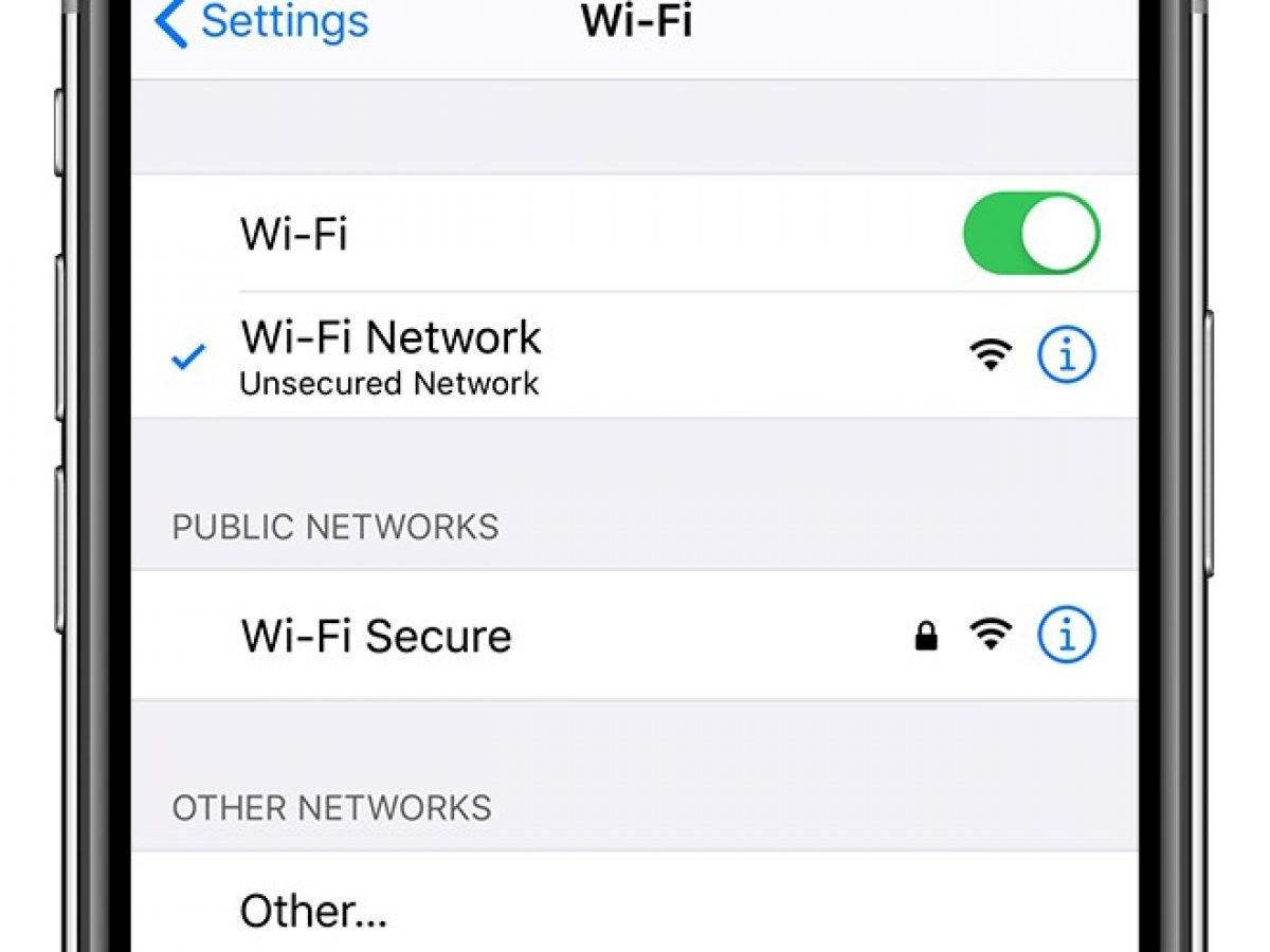 Wont Connect To Wi-Fi