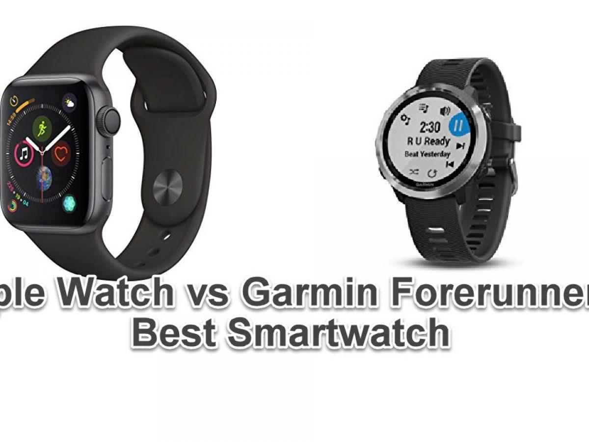 Apple Watch vs Garmin Forerunner 645