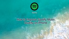 improve spotify music quality on iphone
