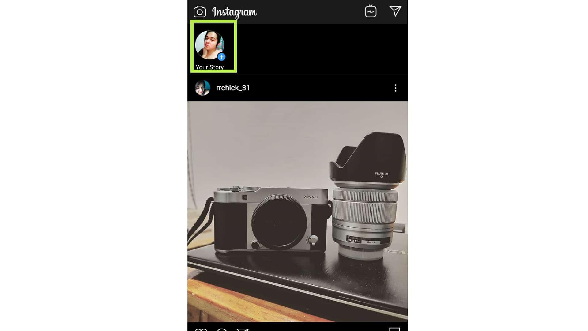 instagram story change background color