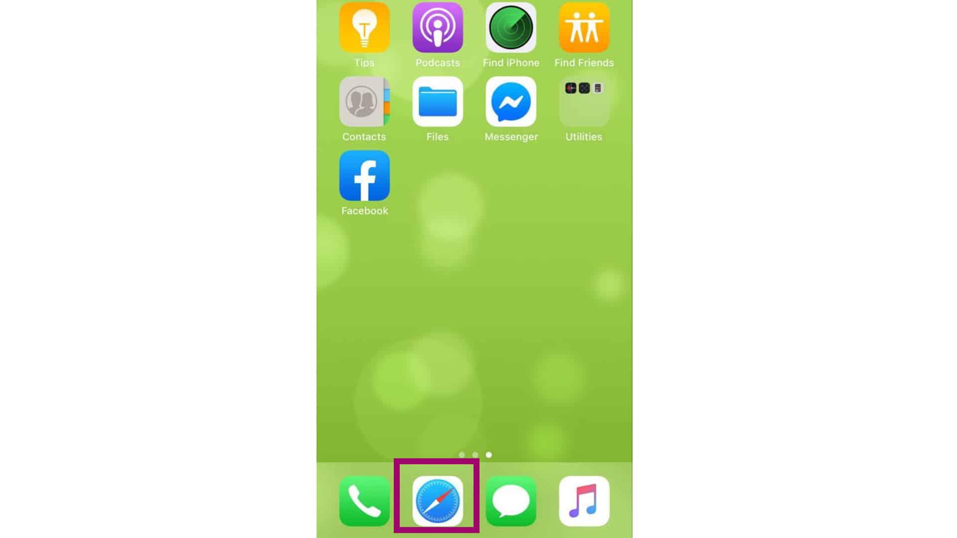 save text, image safari iphone