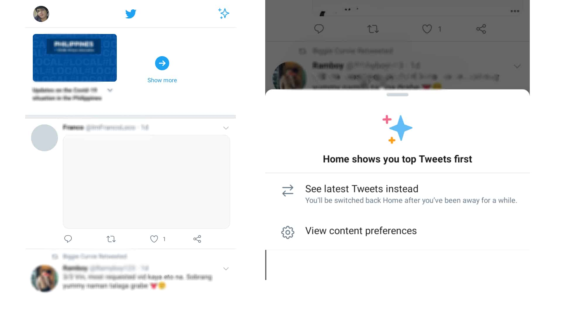 how to use twitter preferences