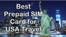 Prepaid SIM Card for USA Travel