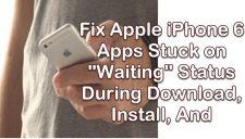 iPhone 6 Apps Stuck