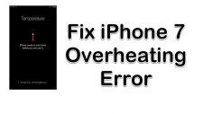 Overheating Error