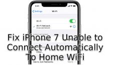 Unable to Connect Automatically To Home WiFi
