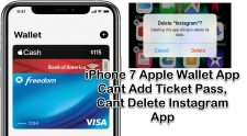 Apple Wallet App Cant Delete Instagram App