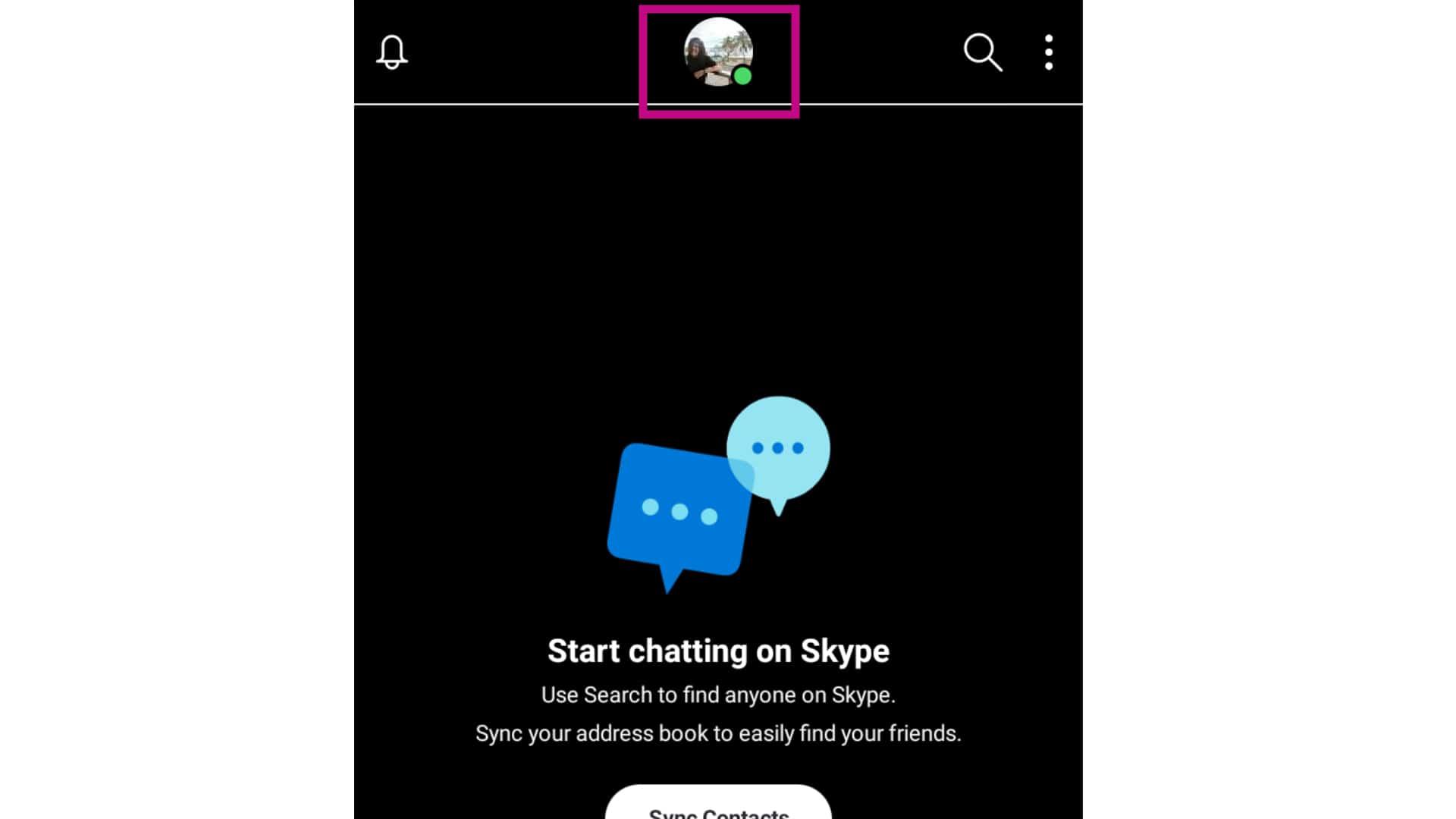 skype change profile picture