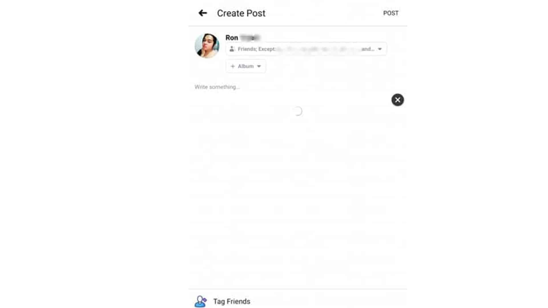 tiktok create post fb
