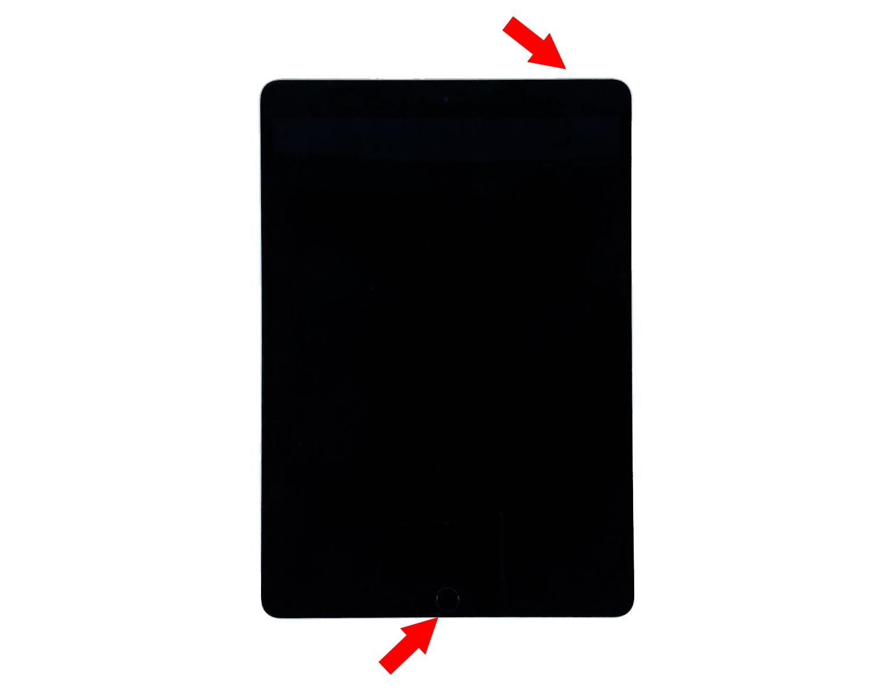iPad won't turn on force restart