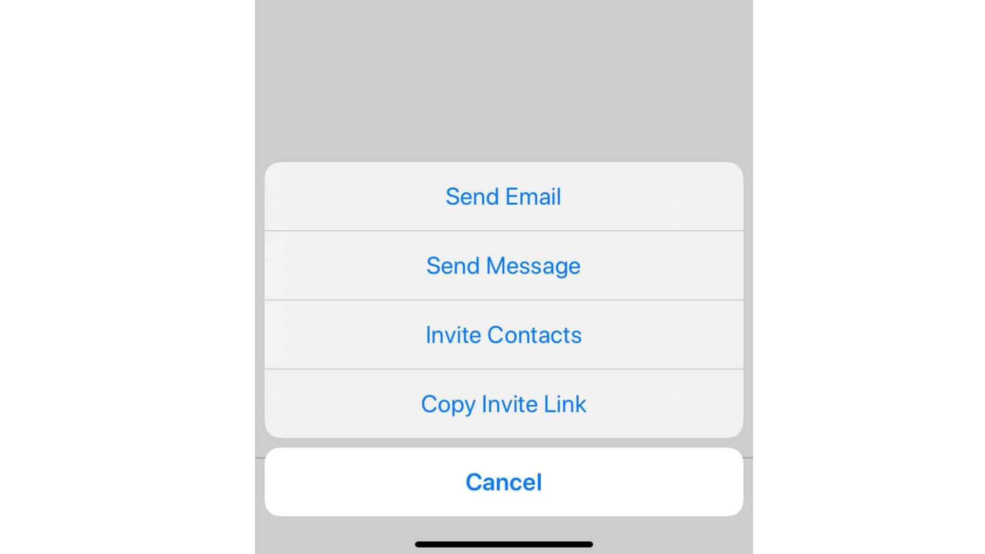 zoom send a meeting invitation