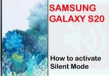 how to put galaxy s20 on silent mode
